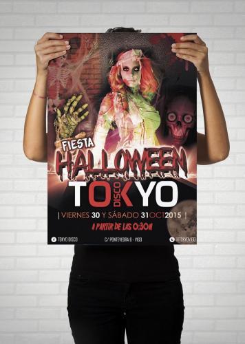 POSTER TOKYO halloween