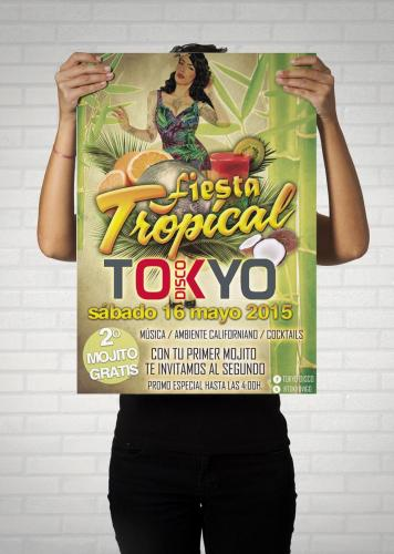 POSTER TOKYO tropical